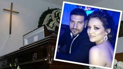 Américo Garza pudo despedirse a solas de Karla Luna, ante el asombro de amigos y familiares