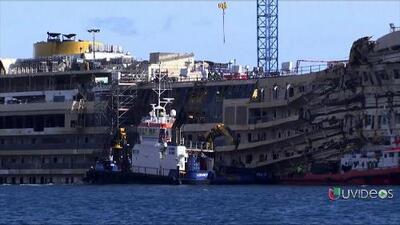 Hallan más restos humanos en el Costa Concordia