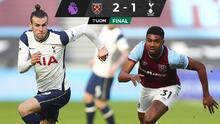 Tottenham sufre su segunda derrota tras caer ante West Ham