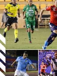 Puebla 0-0 Cimarrones, Alebrijes 1-1 Veracruz, Atlante 0-1 Venados, Monterrey 5-0 Cafetaleros.