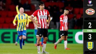 Pese a gol tempranero del 'Guti', PSV es eliminado de la Copa de Holanda