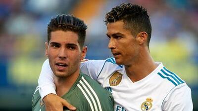 """Luca Zidane: """"Fue un orgullo debutar con el mejor equipo del mundo"""""""