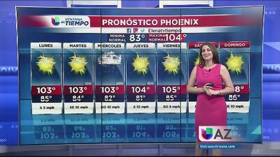 Inicio de semana con temperaturas normales y probabilidad de lluvias por la tarde