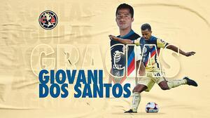 Giovani dos Santos se suma oficialmente a las bajas del América