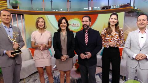 Despierta América y Dr. Juan están nominados a un Emmy y así de felices te damos las gracias
