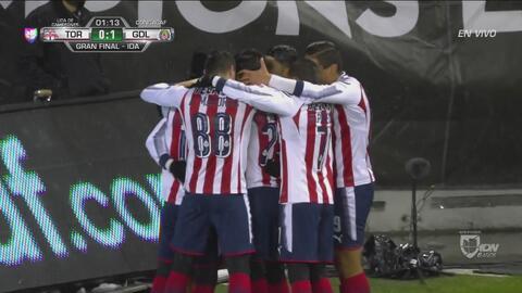 Rodolfo Pizarro sorprende y anota el 1-0 de Chivas en Toronto