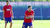Messi no para: Entrenó de forma voluntaria en día festivo