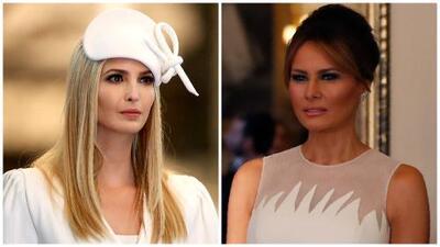 Ivanka Trump logra lo que Melania no pudo en moda: los vestidos que usaron en su visita a Reino Unido