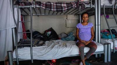 En Tijuana, madres migrantes esperan dos fechas límite: la del parto y la de la corte