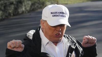 """Puerto Rico exige a Trump no construir el muro con México a """"costa del dolor"""" que dejó el huracán María"""