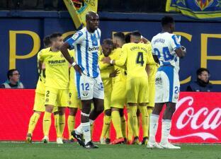 En fotos: Villarreal se aleja del descenso a costa del Leganés, que no tuvo a Diego Reyes