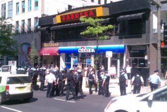 Inician las protestas en Chicago contra OTAN