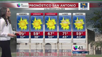 Nuevo frente frío impacta Texas