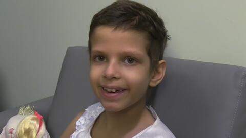 Organización Make a Wish hace realidad el sueño de una niña que sufre de cáncer
