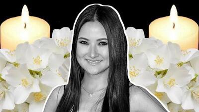 Una flor para Hiromi y una vela para su bebé: así fue el último adiós a la artista en Torreón
