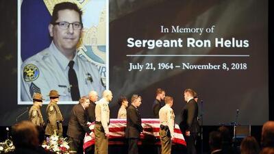 Sargento abatido en la masacre de Thousand Oaks murió por una bala de otro policía