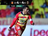 Monarcas remonta tres goles y elimina en penales a Cafetaleros