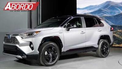 La Toyota RAV4 ha sido reinventada: New York Auto Show