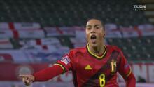 ¡Hubo desvío! Gol de Tielemans para 1-0 de Bélgica ante Inglaterra