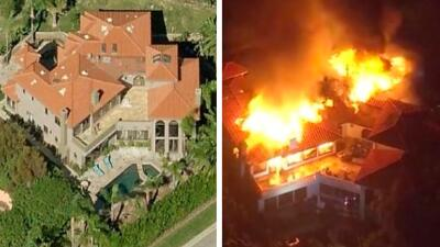 El antes y el después de las residencias de los famosos que se incendiaron en Malibú