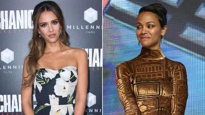 Jessica Alba y Zoe Saldaña se lucieron esta semana, pero Kendel Jenner falló