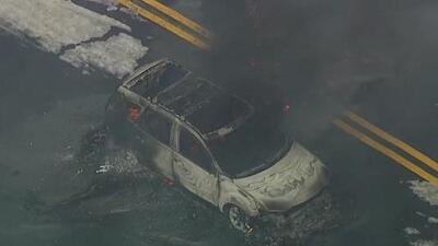 Identifican a conductor que murió quemado después de que su vehículo hizo contacto con cables de alta tensión