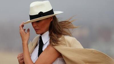 """Melania Trump dice que ella es """"una de las personas más acosadas en el mundo"""""""
