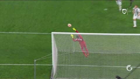 ¡Es figura! Gracias a estas soberbias atajadas de Szczęsny, Juventus se salva en la Champions