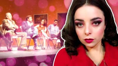 Violeta Isfel es despedida de obra de teatro