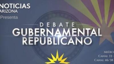 Candidatos republicanos debaten en vivo en Univisión Arizona
