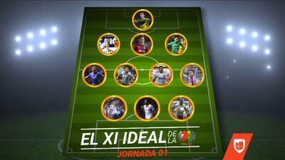Chivas manda en el once ideal de la Jornada 1 del Clausura 2018