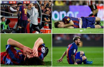 Ante el Inter será el partido 89 que Messi se pierde por lesión con el Barcelona