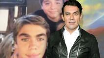 Jorge Salinas revela que le gustaría que los gemelos que tuvo con Fátima Boggio vivieran en México