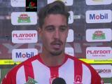 Ian González satisfecho con el 1-1 frente a Rayados de Monterrey