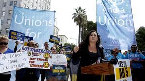 Políticos y sindicatos impulsan a Lorena González para la Secretaría de Estado