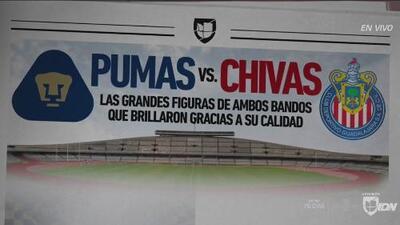 Pumas vs. Chivas: ídolos que perdurarán para la eternidad