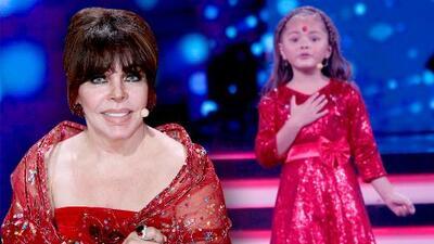 Verónica Castro cuenta la historia del tema que su nieta, Rafaela, le cantó en Pequeños Gigantes