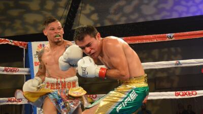Orlando Cruz retuvo el título NABO sobre el mexicano Rómulo Koasicha
