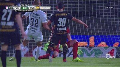 ¡Nada le sale a Carlos González! Pumas sigue al acecho de Dorados