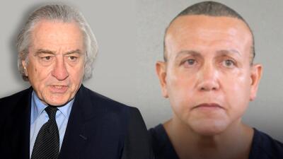 """Robert de Niro arremete contra el """"tonto"""" que le mandó un paquete bomba tras ser sentenciado a 20 años de cárcel"""