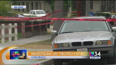 Tiroteo mortal causa intensa actividad policiaca en Long Beach
