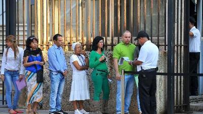 EEUU anuncia que expedirá visas para cubanos en Gergetown, Guayana