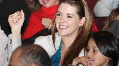 """Mira cómo la hija de Alicia Machado hizo """"bastante dinero"""" para los niños de México y Puerto Rico"""