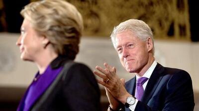 La tierna reacción de Bill al discurso de Hillary Clinton que no viste
