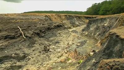 Desaparece una laguna en el sur de México en menos de 24 horas