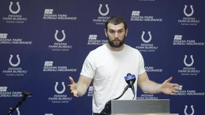 Los Colts inician prácticas sin Andrew Luck