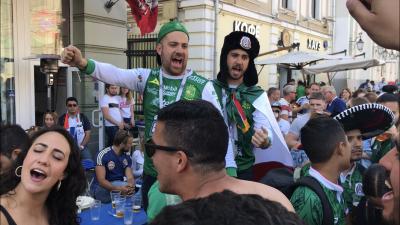 La fiesta mexicana en Rusia se prende a un día del debut ante Alemania