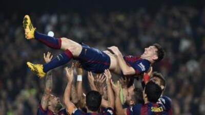 Barcelona 5 - Sevilla 1: Messi supera récord de Zarra y lidera goleada del Barça
