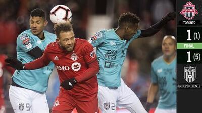 Hazaña panameña: Independiente La Chorrera elimina al subcampeón Toronto