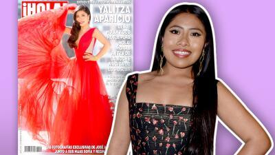 Camila Sodi y otros famosos critican supuesto retoque de Yalitza Aparicio en la portada de una afamada revista